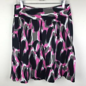 INC Abstract A Line Skirt